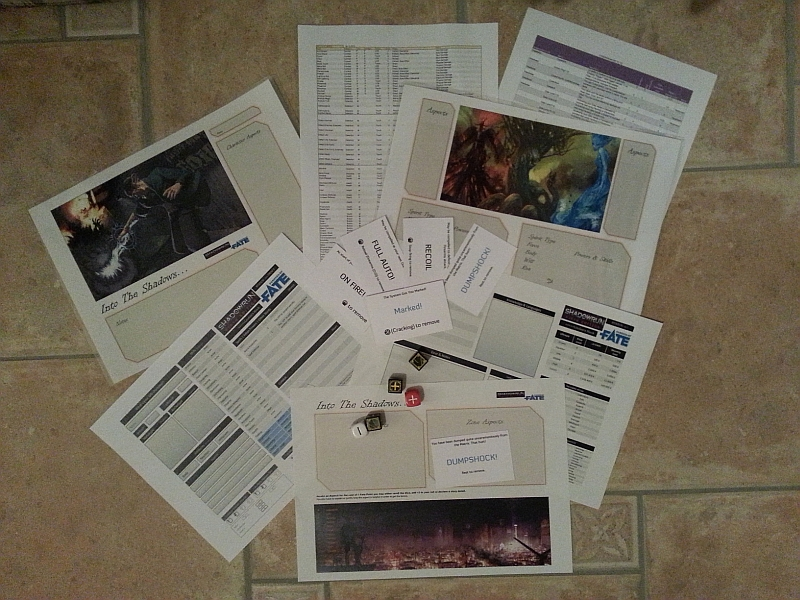 Playtest stuff for ShadowFate